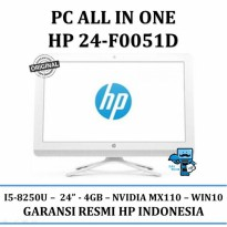 Promo PC HP All In One HP 24-F0051D - I5 8250U - WIN10 - RESMI