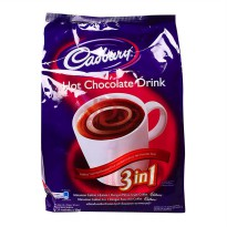CADBURY 3 in 1 Hot Chocolate Drink 30gr - Isi 15 sachet (450gr) (P. Jawa Only)