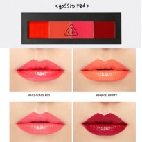 3 CE 3 Concept Eyes Lip Color Pallete