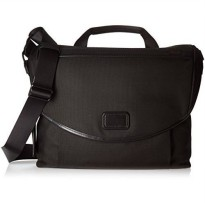 [macyskorea] Tumi Alpha Slim Messenger Shoulder Bag, Black, One Size/18973489