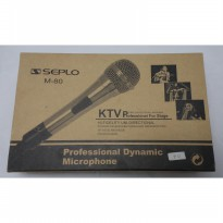 Microphone KTV Seplo M-80  (New Old Stock)