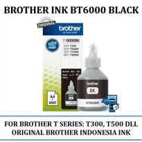 Promo Tinta Hitam Brother Botol Ink Original BT6000 BK Black
