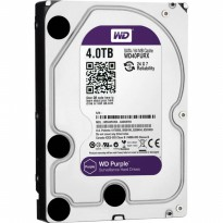 Promo WDC Purple 4TB For CCTV 24 Hours - WD40PURX - Garansi 3 Th