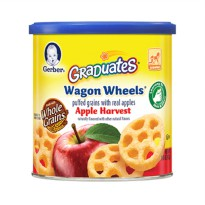 Gerber Graduates Wagon Wheels Apple Harvest