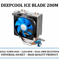Promo Cooling Fan Deepcool ICE BLADE 200M UNIVERSAL SOCKET - Original