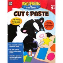 [HelloPandaBooks] Cut & Paste Big Skills for Little Hands Activity Book (Ages 3+)