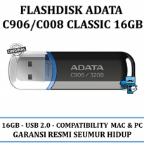 Promo Flasdisks ADATA C906\C008 classic 16GB - Original