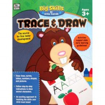 [HelloPandabooks] Trace & Draw Big Skills for Little Hands Activity Book (Ages 3+)
