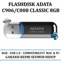Promo Flasdisks ADATA C906\C008 classic 8GB - Original