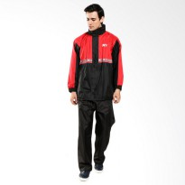 (Jas Hujan) KYT # Raincoat Pit One - Red
