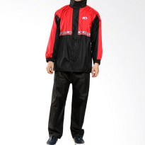 KYT # Raincoat Pit One - Red