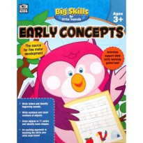 [HelloPandaBooks] Early Concepts Big Skills for Little Hands Activity Book (Ages 3+)
