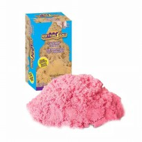 Mainan pasir anak warna pink refill 800gr Motion sand safe fun easy to