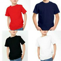 Kaos Anak Polos Tshirt Branded Sale Cotton