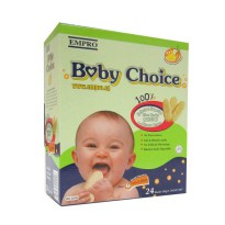 Baby Choice Rice Crackers 24 Rusks - Chicken & Vegetable 50gr