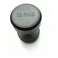 Body Gym Dumbell Fix Rubber 12.5kg