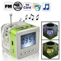 Portable Speaker MP3 Radio Clock NIZHI TT028 Diskon