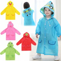 Jas Hujan / Funny Rain Coat For children SH188