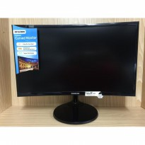 Curved Monitor LCD LED SAMSUNG SF390(C24F390FHE) Essential Display 24