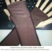 Handsocks Round Hand Dark Choco