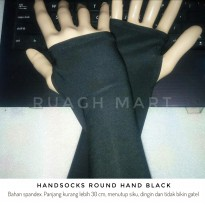Handsocks Round Hand Black