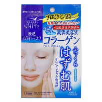 (POP UP AIA) Kose Clear Turn White Mask Collagen 1 Sheet
