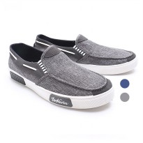 2Pilihan Dr.Kevin Men Casual Slip On 13279 : Grey, Blue