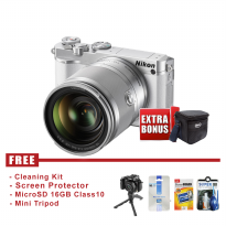 Nikon 1 J5 Kit lens 10 -100mm - White (FREE Accessories)
