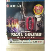 Ichiko Multimedia Bluetooth Speaker Model LS50 - Hitam