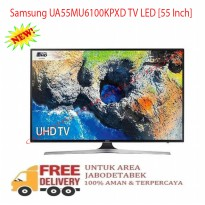 Samsung UA55MU6100 55 inch UHD 4K Certified HDR Smart LED TV - Promo