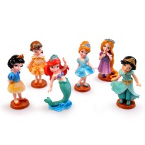 Princess Duyung Action Figure Set isi 6 [FG22]