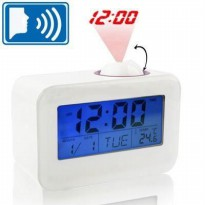 Digital LED Sound Talking Controlled Projector Clock