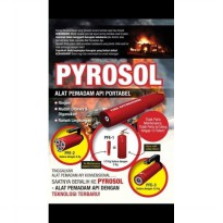 Portable Fire Extinguisher Pyrosol PFE-1