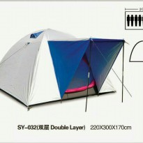Tenda dome bnix 032 kap. 8p double layer
