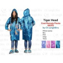 Jas Hujan COAT REMAJA FIESTA 68202 Tiger Head Mantel Teenager Rain