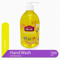 Sleek Hand Wash Lemon Botol 500 mL