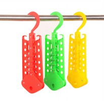New Magic Hanger TEBAL Coat Hanger Gantungan Ajaib Menghemat Ruang Lemari High Quality Wonder Hanger