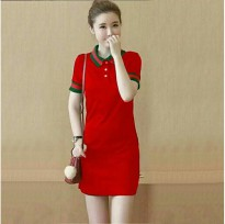 MINI DRESS,ATASAN MS.GUCCI - RED