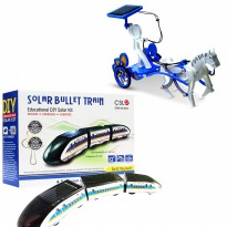 Solar Robot 3 in 1 Tersedia 3 Model (Kuda / Train / Robot)