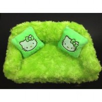 Tempat tissue hello kitty sofa snail / sarung kotak tissue