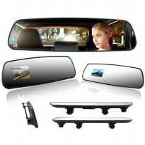 Kamera Mobil Spion Tengah ( Rearview Mirror HD 720p )