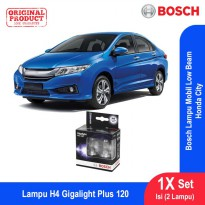 Bosch Lampu Mobil Honda City Low Beam Plus 120 H4 12V 60/55W P43t - 2Pcs/Set - 1987301106
