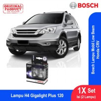 Bosch Lampu Mobil Honda CR-V Low Beam Plus 120 H4 12V 60/55W P43t - 2Pcs/Set - 1987301106