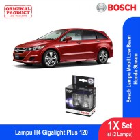 Bosch Lampu Mobil Honda Stream Low Beam Plus 120 H4 12V 60/55W P43t - 2Pcs/Set - 1987301106