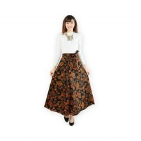 Wrapped A-Line Long Skirt / Rok Batik Lilit