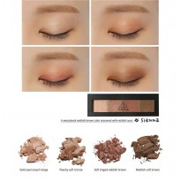 3 Concept Eyes ( 3 CE ) Dot Eye Shadow Pallete