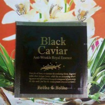 Serum Anti Kerut Holika Black Caviar Anti Wringkle Royal Essence