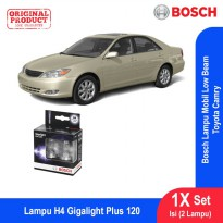 Bosch Lampu Mobil Toyota Camry Low Beam Plus 120 H4 12V 60/55W P43t - 2Pcs/Set - 1987301106