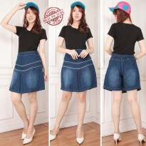 SB Collection Celana Pendek Khayira Jumbo Jeans Hotpants Rok Wanita