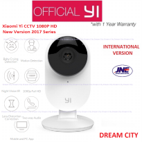 Xiaomi Yi CCTV Home IP Camera 1080P International Version English with Night Version Garansi 1 Tahun